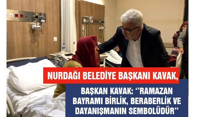 Nurdağı Belediye Başkanı Kavak, Ramazan Bayramını kutladı