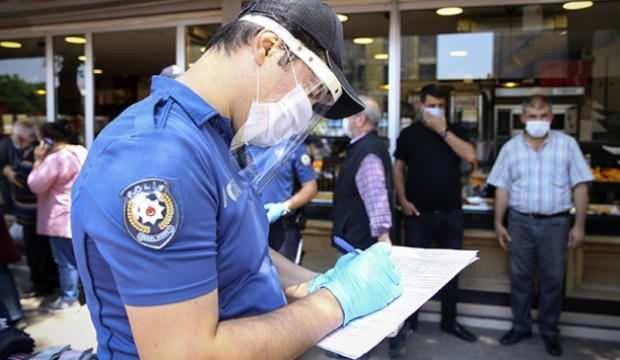 İslahiye'de 17 günlük tam kapanmada 282 kişiye 206 bin 925 lira ceza