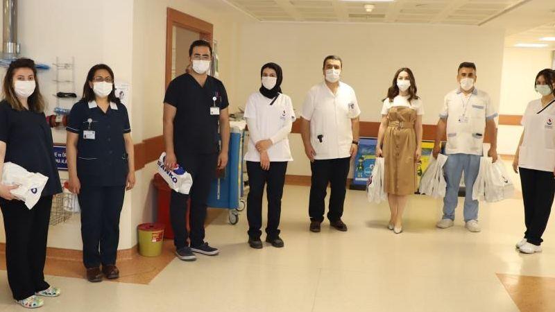 SANKO Üniversitesi Hastanesi'nde Hemşirelik Haftası kutlandı