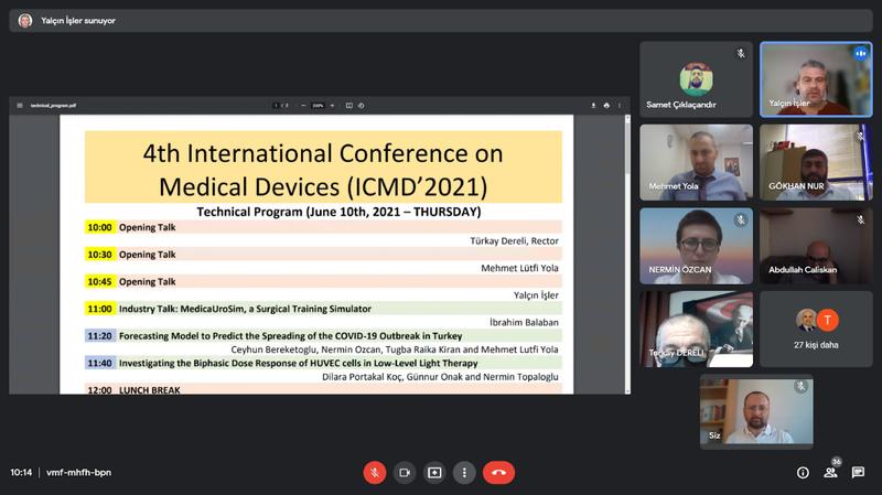 HKÜ'dan 4. Uluslararası Tıbbi Cihazlar Konferansına ev sahipliği