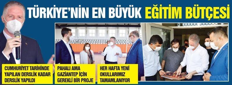 Türkiye'nin en büyük eğitim bütçesi