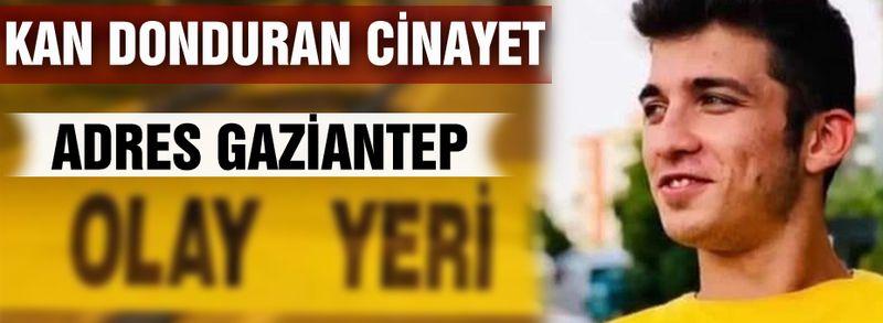 Gaziantep'te kan donduran cinayet! Gasp edip öldürdüler...