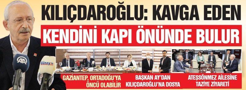 """Kılıçdaroğlu: """"Kavga Eden Kendini Kapı Önünde Bulur"""""""