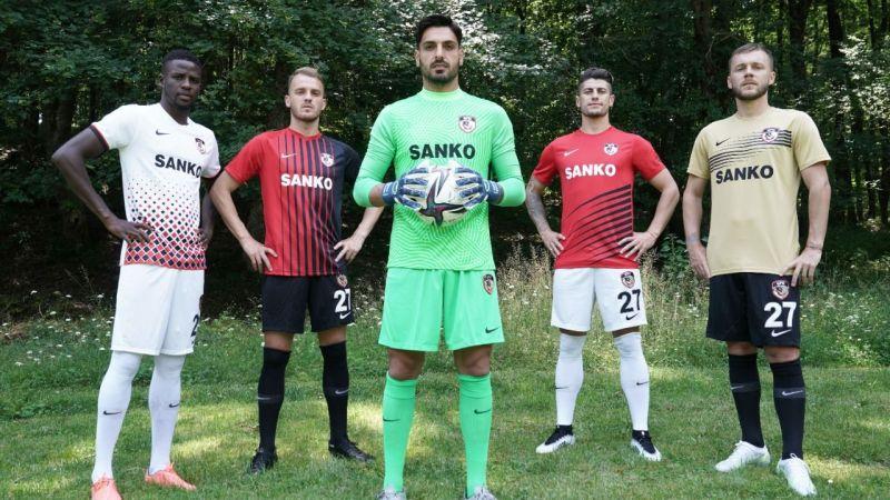 İşte Gaziantep FK'nın yeni sezon formaları