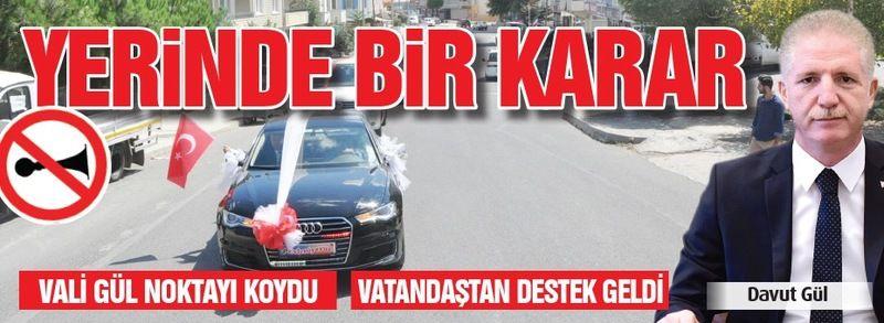 YERİNDE BİR KARAR..