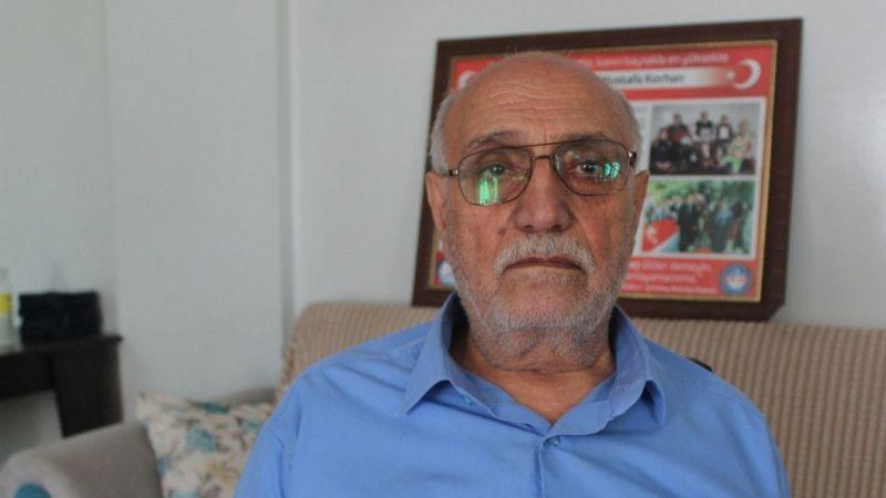 Şehit babası haklarını mücadele ile kazandı
