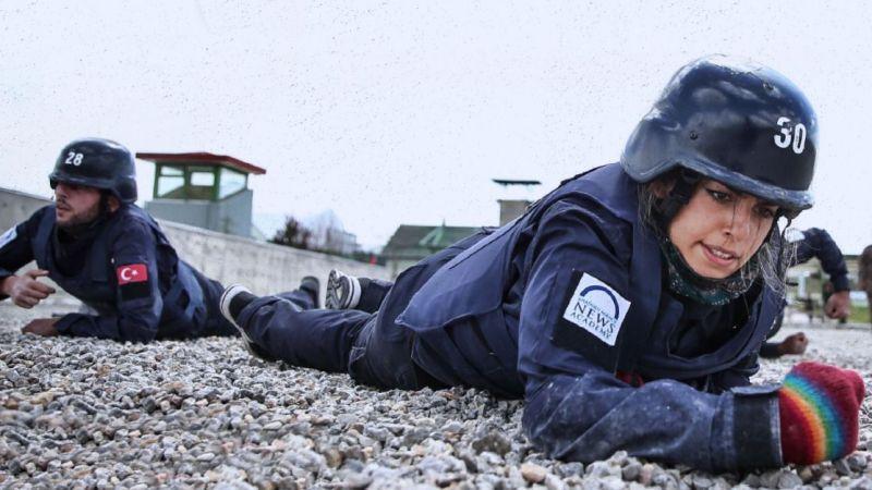 AA'nın Savaş Muhabirleri Eğitimi Başlıyor