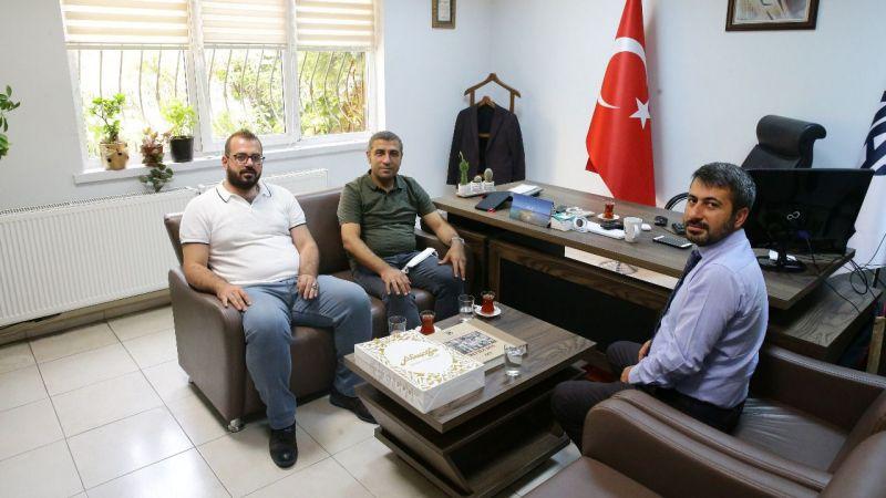 Taşdoğan'dan Kocalar'a ziyaret