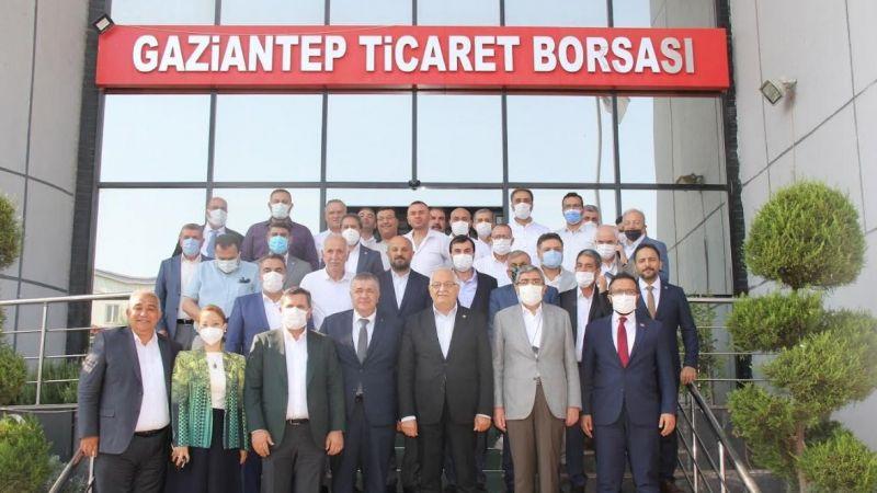 AK Parti'li vekillerden GTB'ye ziyaret