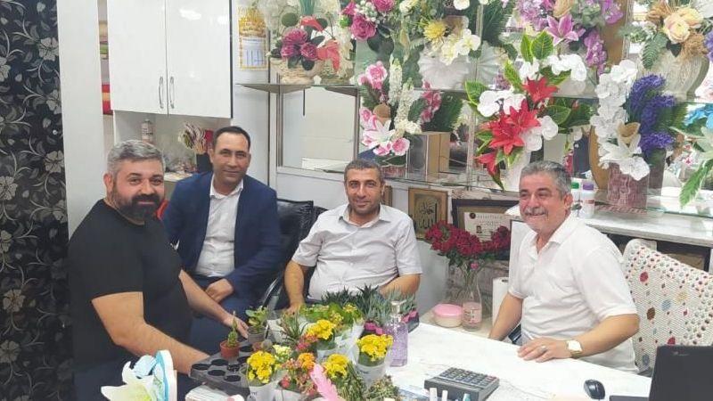 Milletvekili Taşdoğan sahada