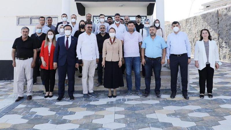 Fadıloğlu ve Bakbak'tan kooperatif ziyareti