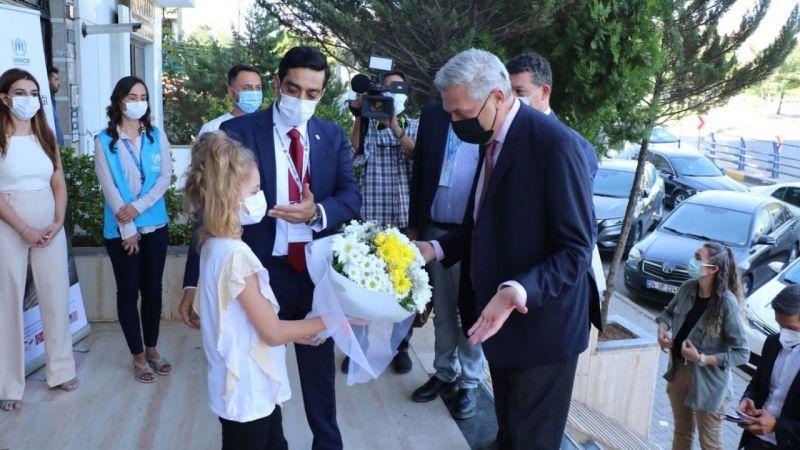 BM Yüksek Komiseri Grandi Gaziantep Hukuk Kliniğini ziyaret etti