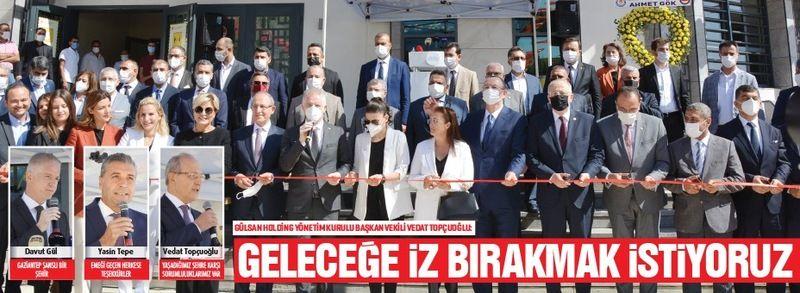 ''GELECEĞE İZ BIRAKMAK İSTİYORUZ ''