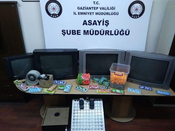 Gaziantep'te kumar oynayan 46 kişiye para cezası verildi