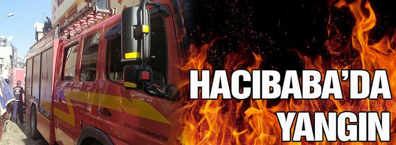 Hacıbaba'da yangın