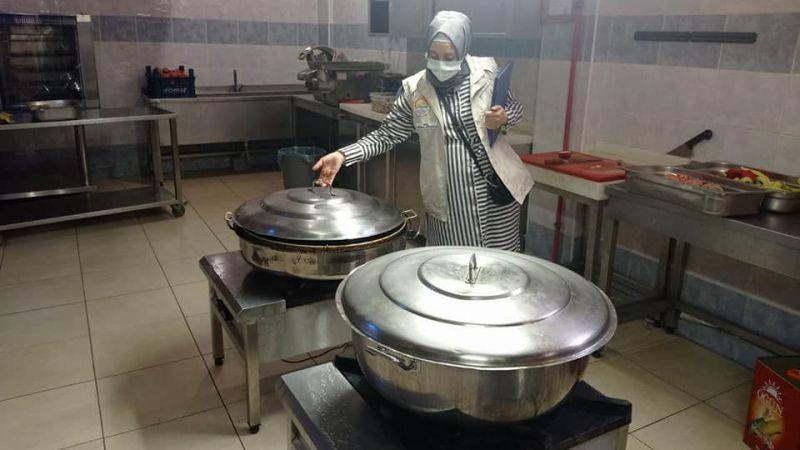 İslahiye'de okulların yemekhaneleri denetlendi