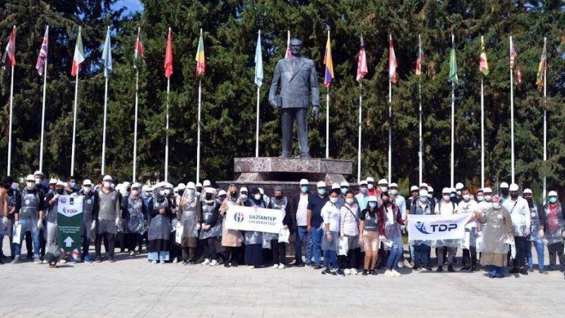 GAÜN'de temiz çevre temiz kampüs etkinliği