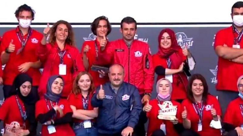 Türkiye 3.lüğü GKV Biyomedikal Takımının