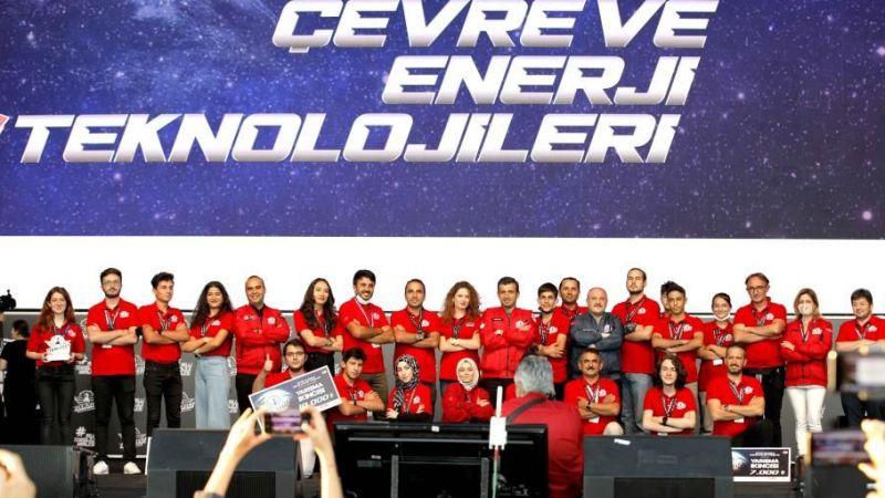 Teknofest'te en çevreci projeler ödüllendirildi