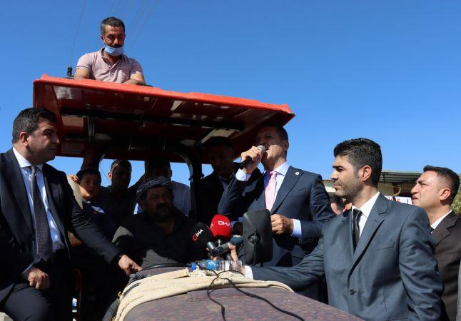 TDP Genel Başkanı Sarıgül, Kilis'te vatandaşlarla bir araya geldi