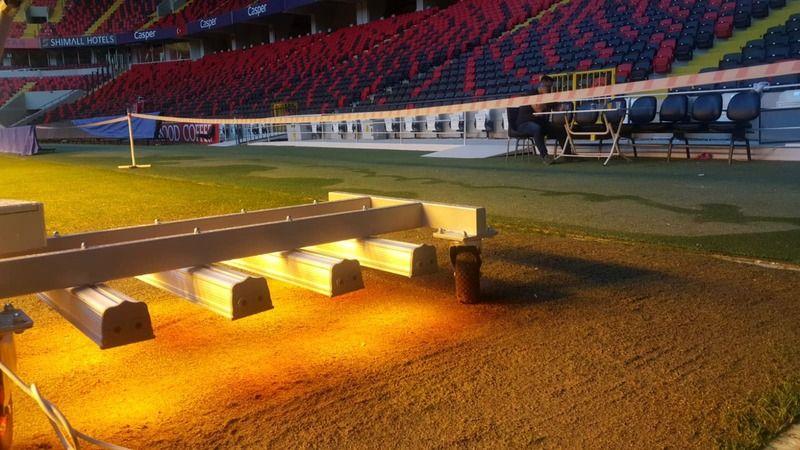 Kalyon Stadı'na zemin operasyonu