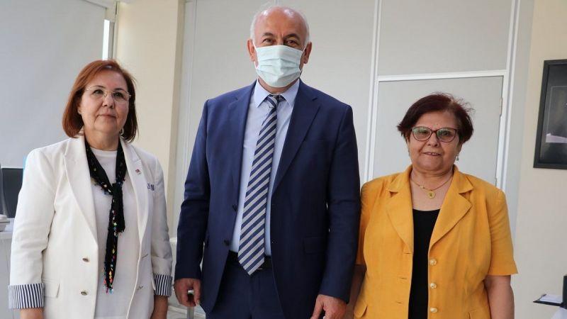 Kadın Yöneticilerden Başkan Tuncel'e Ziyaret