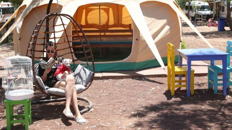 Aydın'da alternatif turizmin yeni rotası: Ada Camping