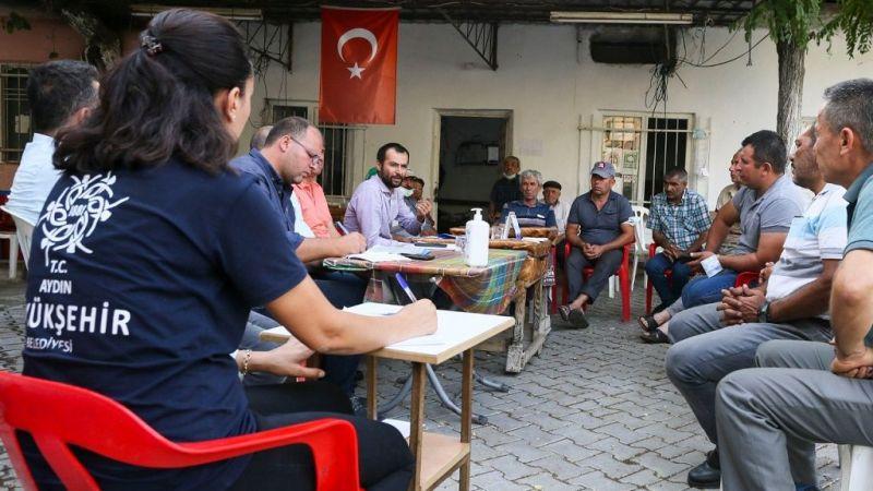'Büyükşehir Sahada' vatandaşları dinliyor