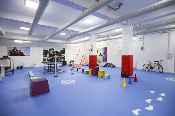Büyükşehir Belediyesi'nin Otizm Spor Salonundan lisanslı sporcular yetişecek