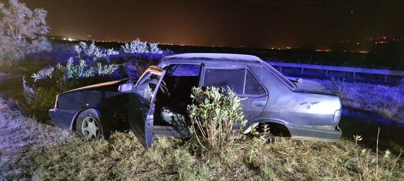 Argavlı'da Trafik Kazası