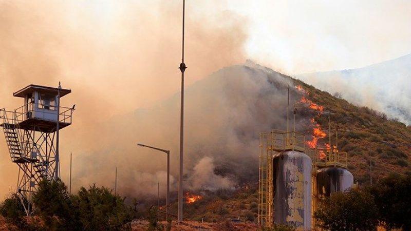 Milas'ta alevler termik santrale girdi: Bölge tahliye edildi