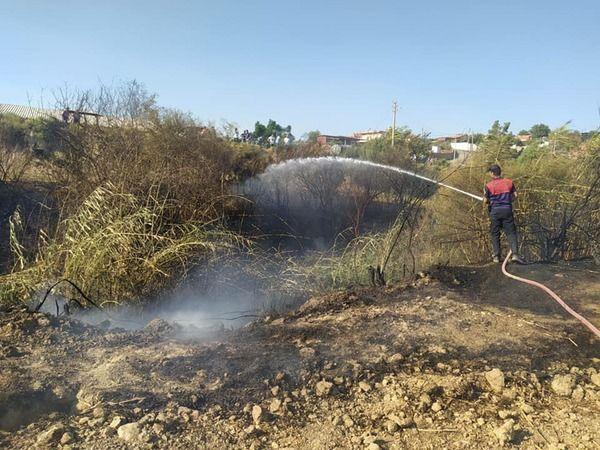 Aydın Büyükşehir Belediyesi'nden yangının devam ettiği Çine'de seferberlik