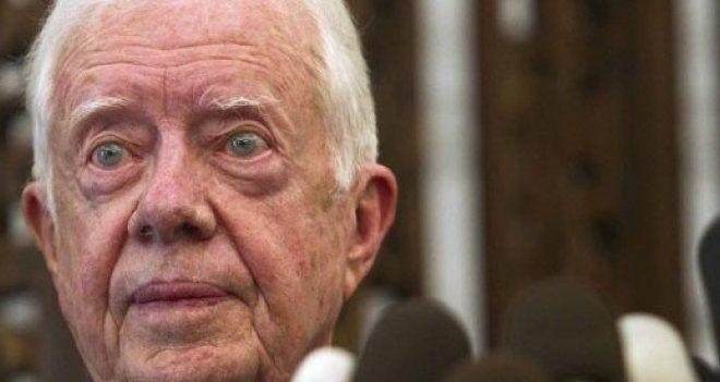 Bay Carter, şimdi mi aklınıza geldi Suriye Barışı?