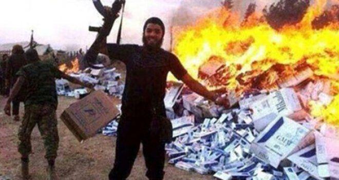 IŞİD Suriye'de havaalanına saldırdı, TSK alarma geçti