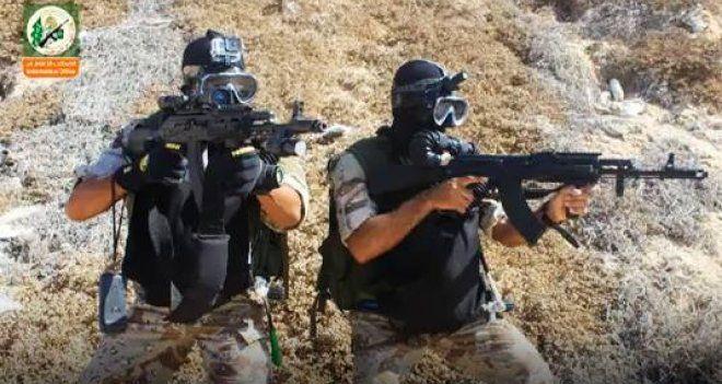 Kassam Mücahitlerinden dünkü deniz baskını hakkında açıklama: İşgalci askerlerin birkaçı öldürüldü