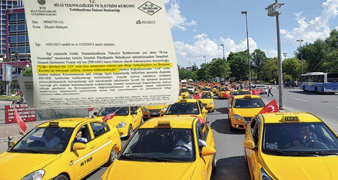 İstanbul'daki 'Alo taksi' ihalesi İsrailli firmaya mı verildi?