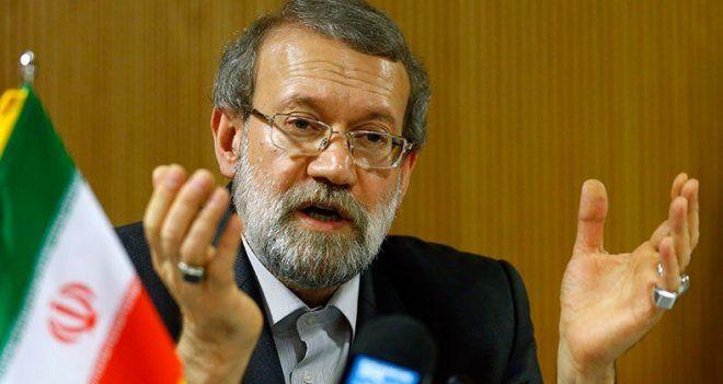"""Laricani: """"Amerika, Saddam'a yaptığı gibi işi bittiğinde bazı bölge ülkelerini çöpe atacak"""""""