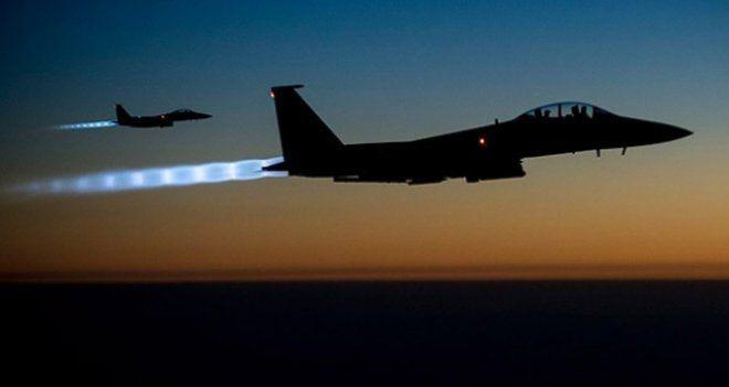 Kobani'de IŞİD hedefleri bombalandı