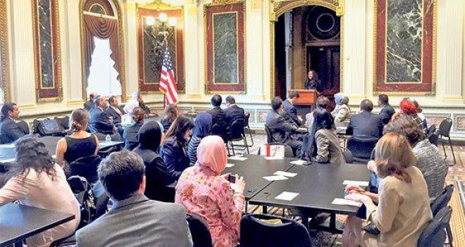 Gülen cemaati, Beyaz Saray'daki Kurban Bayramı programını organize etti; ABD'nin ciddi takdir ve teşekkürlerini aldı