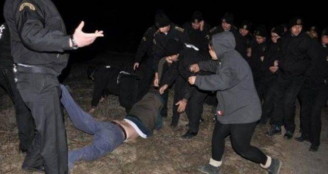 Kolin'in Yırca şantiyesinde güvenlik görevlileri ve işçilerin işine son verildi