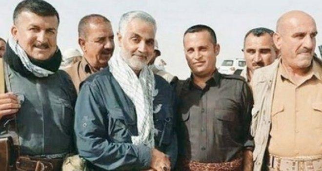 Kasım Süleymani IŞİD'den kurtarılan Sadiye Kasabası'nı ziyaret etti