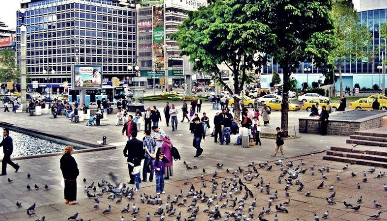 Ankara Kızılay Meydanı' nın adı değişiyor
