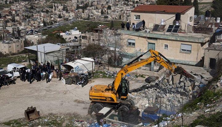 İşgal Güçleri Tel Aviv Eylemini Gerçekleştiren Esirlerin Evlerini Yıktı