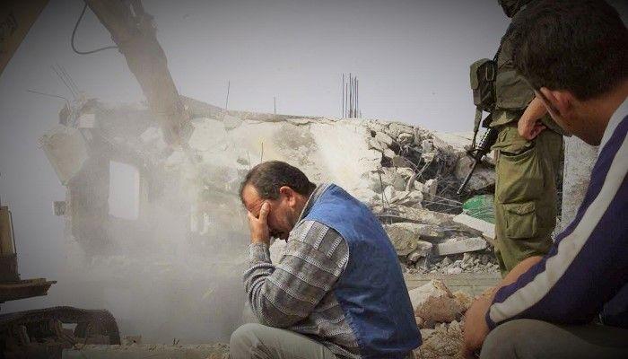 Siyonist yıkım sürüyor, Kudüs adım adım işgal ediliyor; Bir Filistinli'nin daha evi yıkıldı