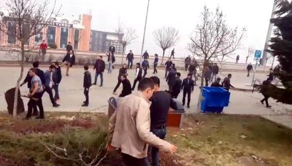 Kocaeli Üniversitesi'nde öğrenci grupları arasındaki kavgada 47 gözaltı