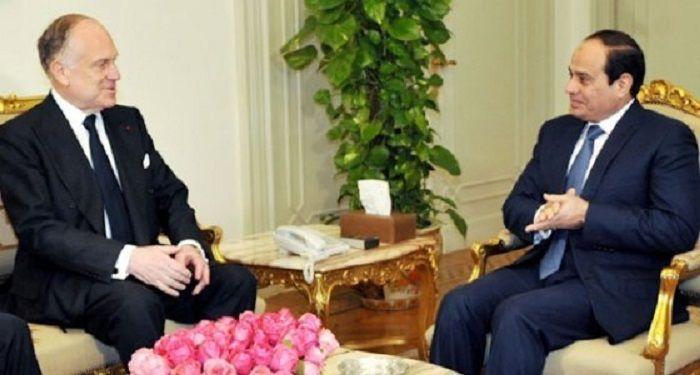 Sisi, Dünya Yahudi Kongresi Başkanı Lauder'le görüştü
