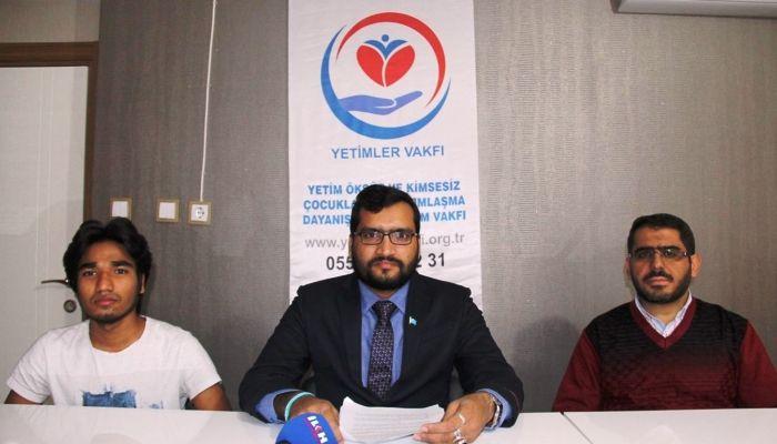 Bangladeş İhsan Vakfı Başkanı: Arakanlıların durumu günden güne kötüye gidiyor