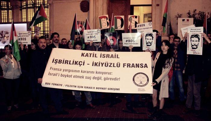 BDS Türkiye'nin Filistin için düzenlediği basın açıklaması valilik tarafından engellendi