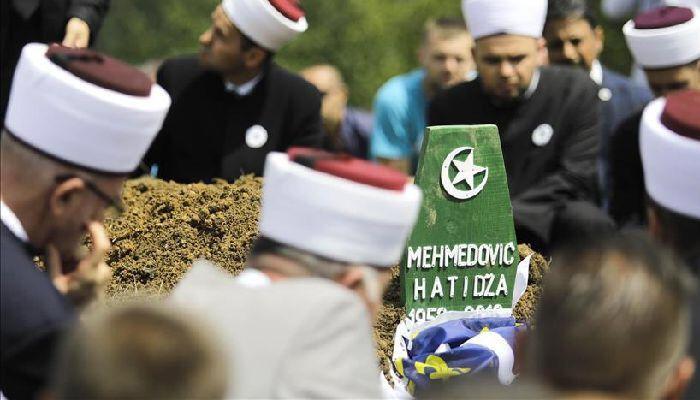 Adalet savaşçısı Hatice Mehmedovic'in cenazesi defnedildi