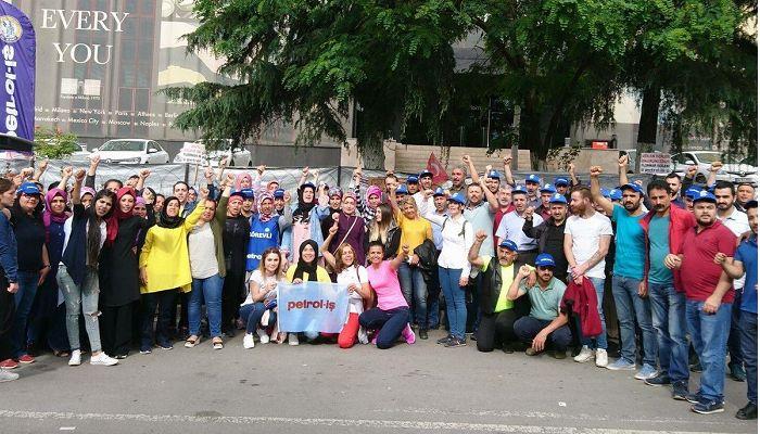 Flormar işçilerine, direnişin 84. gününde polisten gözdağı: Çevik kuvveti sizin için getirdik